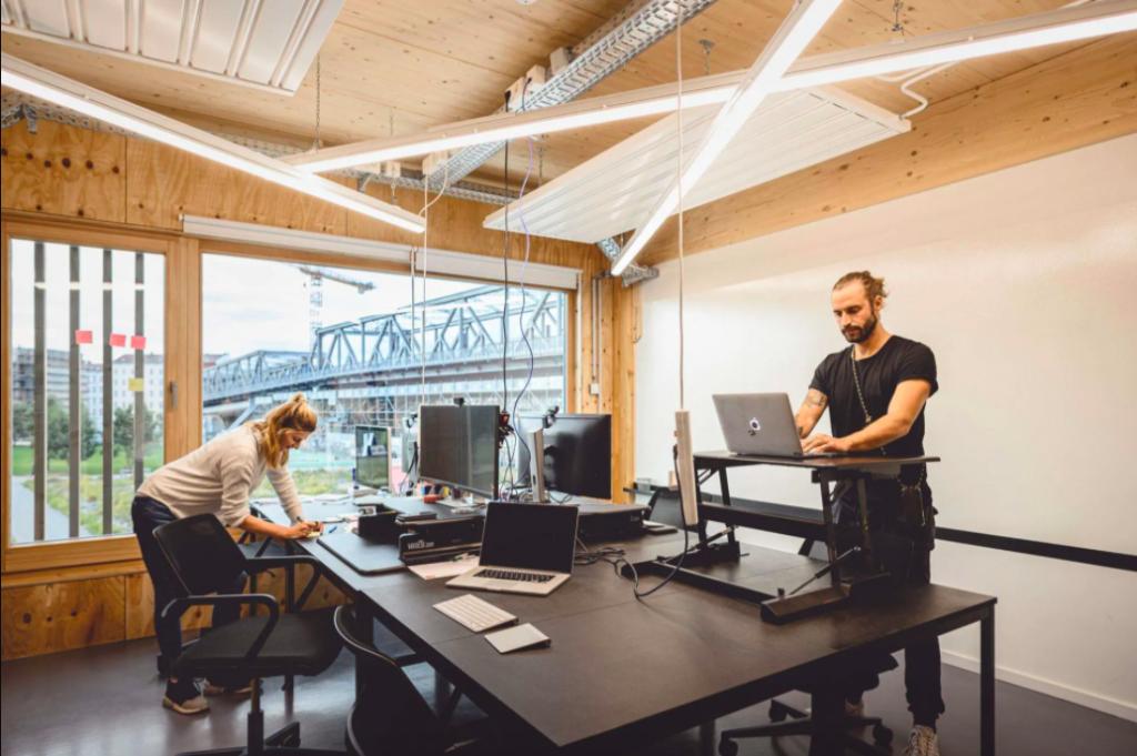 SANKT OBERHOLZ coworking space, BERLIN, MITTE