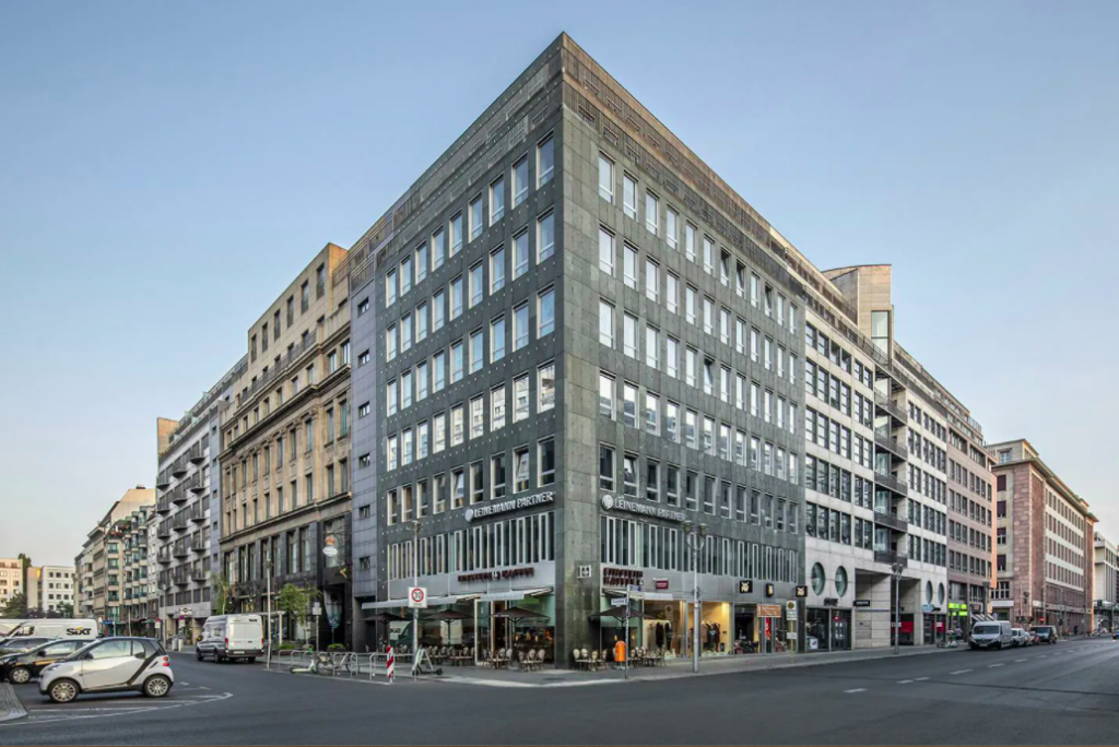 Kontorhaus coworking, The Office Group in Berlin