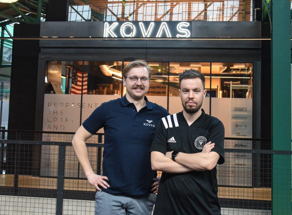 Adam Borowski i Konrad Grabowski z KOVAS