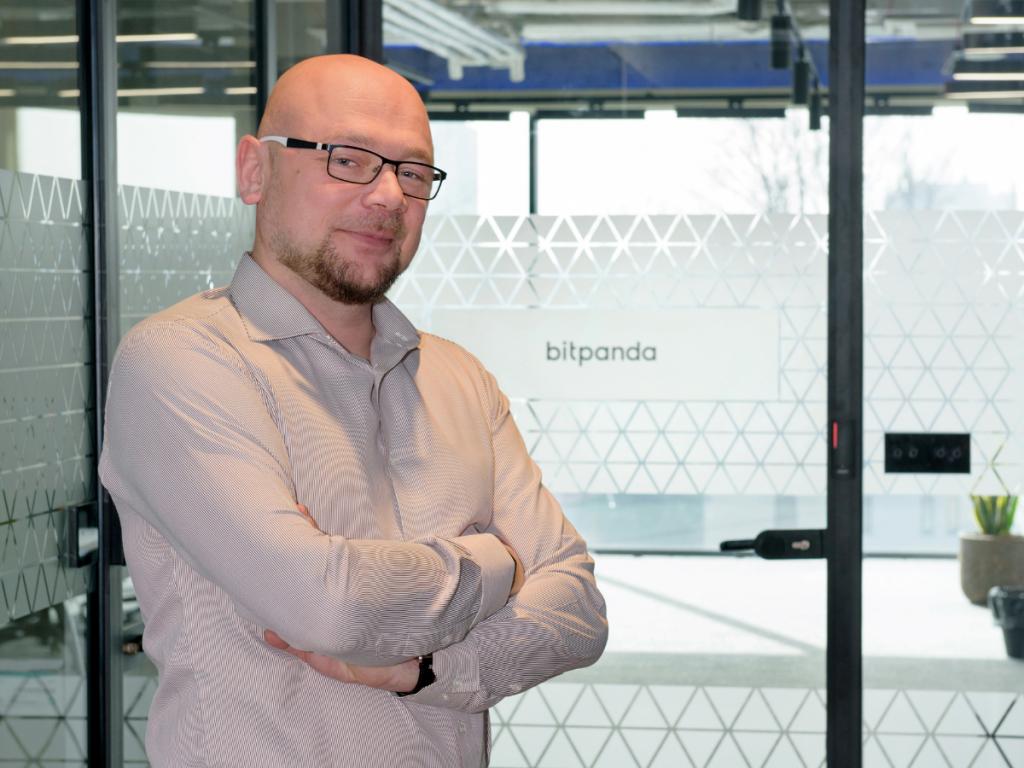 Krzysztof Raś, VP Engineering at Bitpanda