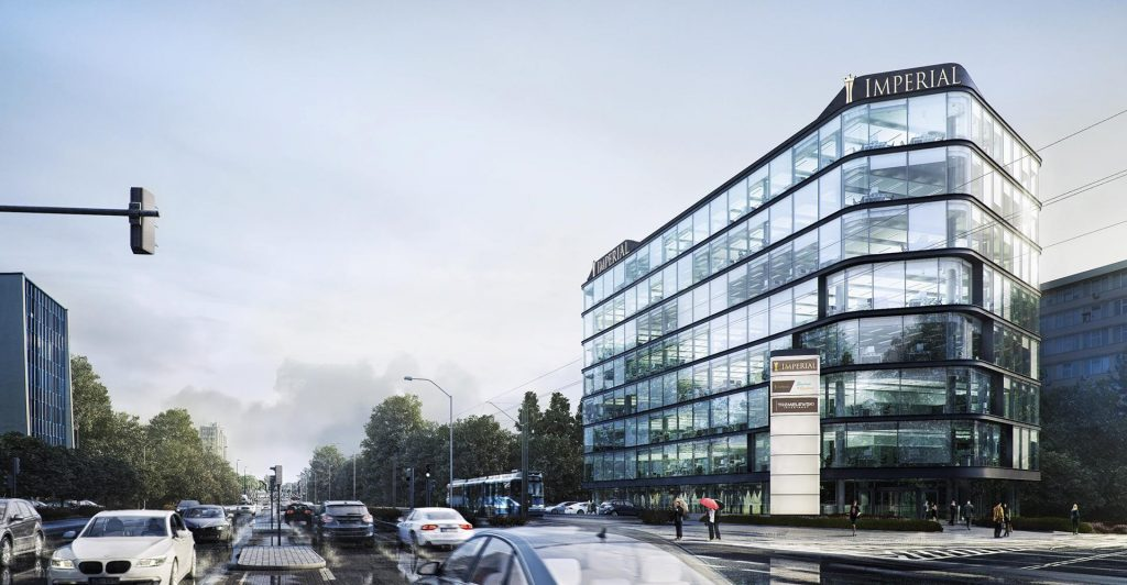 Rise Imperial flexible office space in Cracov