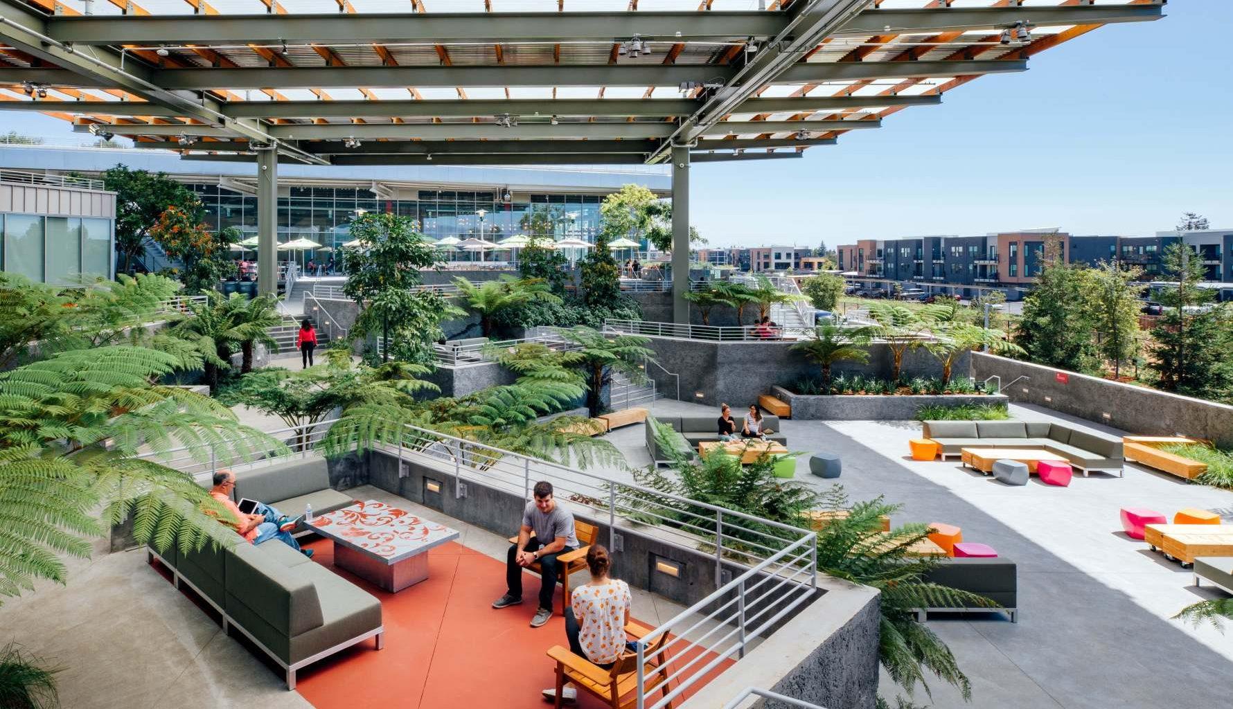 Facebook office Menlo park