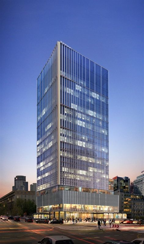 CENTRAL POINT WILL REACH AS HIGH AS 21 FLOORS AND 95 METERS.
