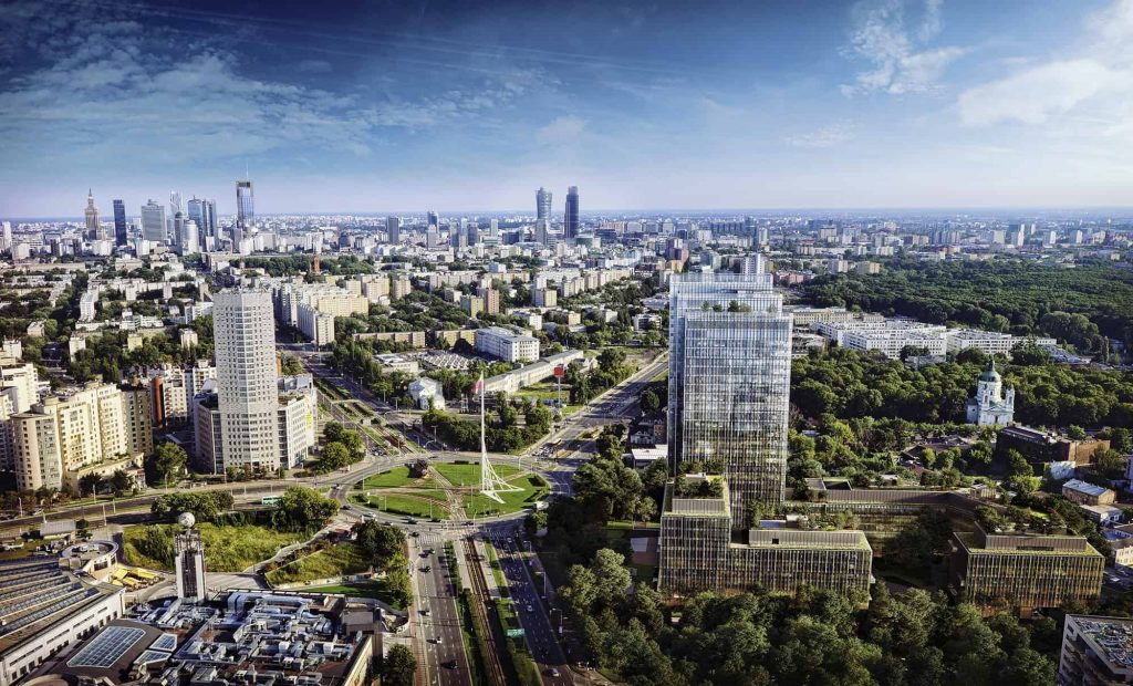 FOREST IS A CAMPUS STYLE PROJECT LOCATED IN POST-INDUSTRIAL PART OF WARSAW.