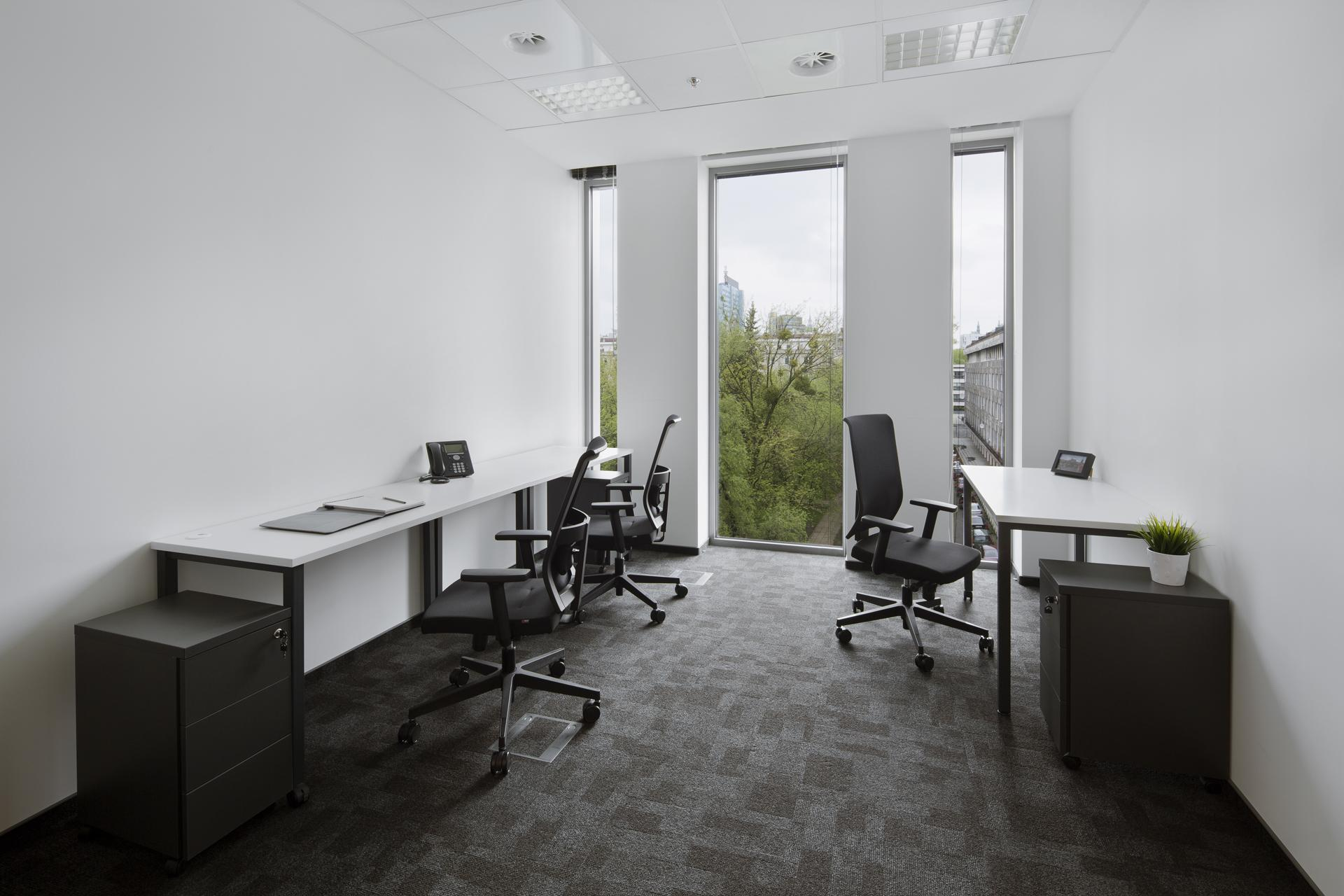 Office for 2 pers. in CitySpace Plac Unii