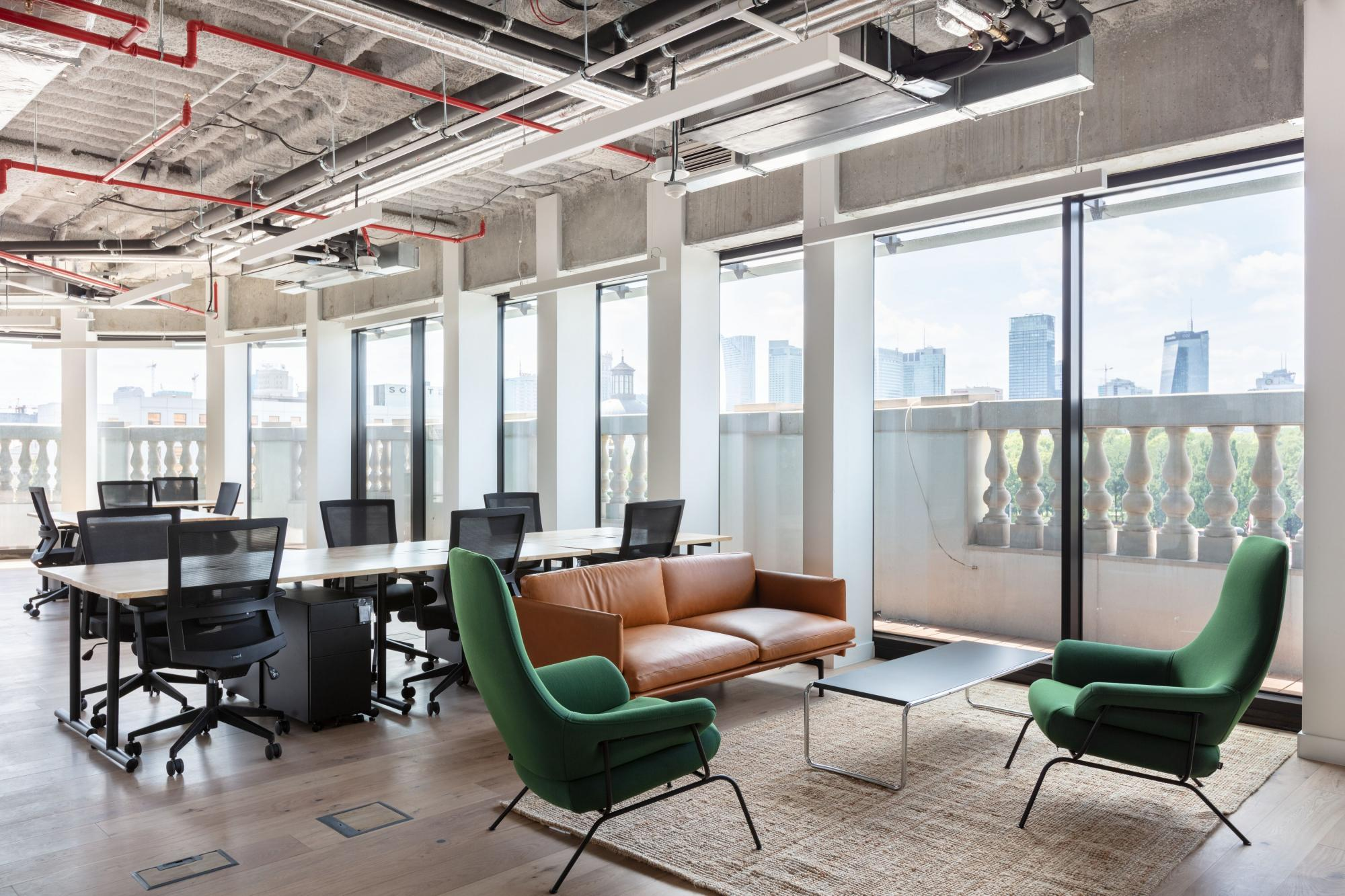 Office for 5 pers. in WeWork Hotel Europejski
