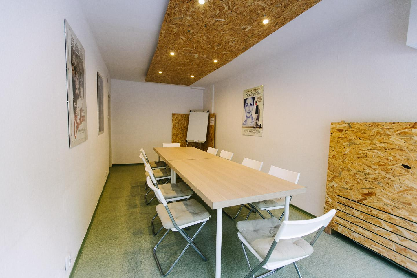 Meeting room for 12 pers. in ClockWork Ursynów Coworking