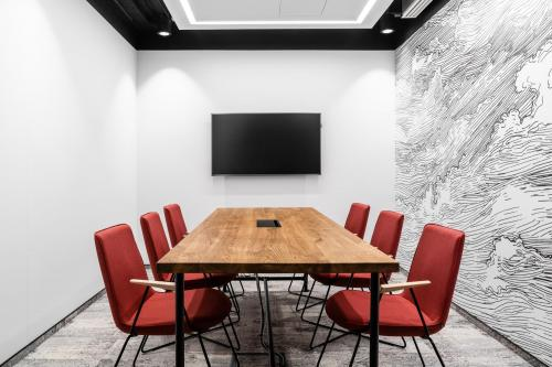 Conference Room - Solutions.rent Ethos - Coworking Space - Warsaw