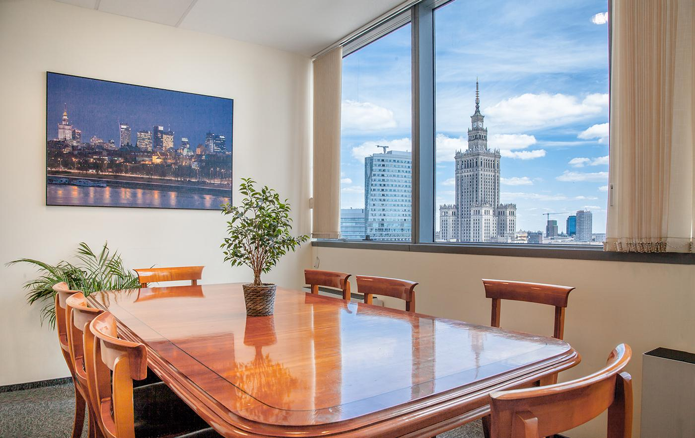 Conference Room - Warsaw Office Business Centre - Serviced Office - Warsaw
