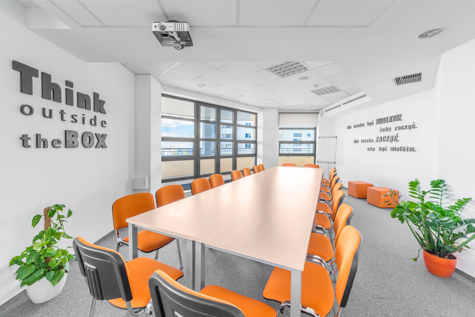 Conference Room - iDid Ursynów - Fully Serviced Office - Warszawa